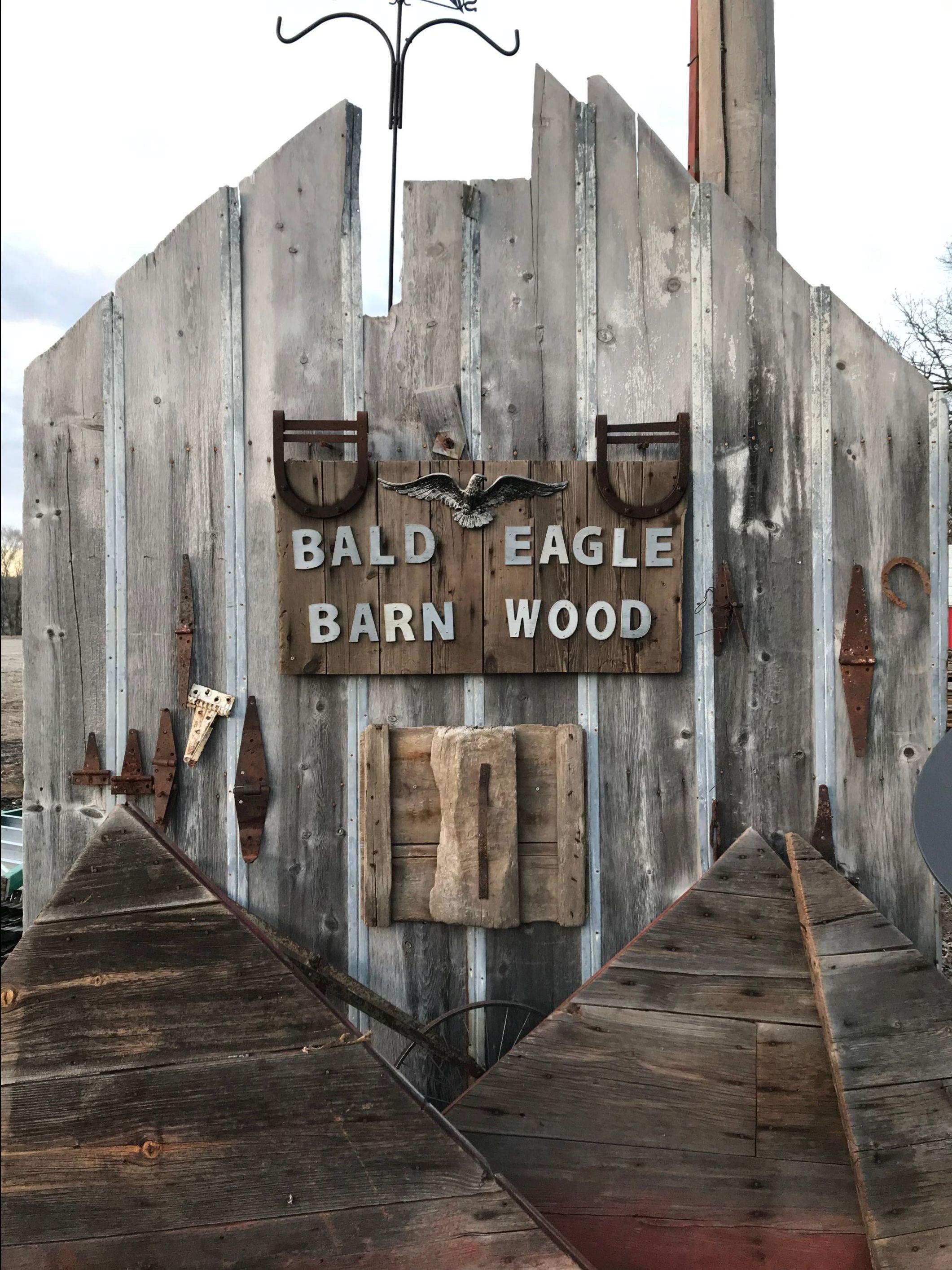 salvaged barn wood
