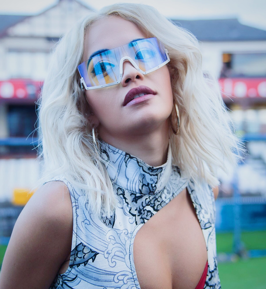 Rita Ora in Westward Leaning Stun 03
