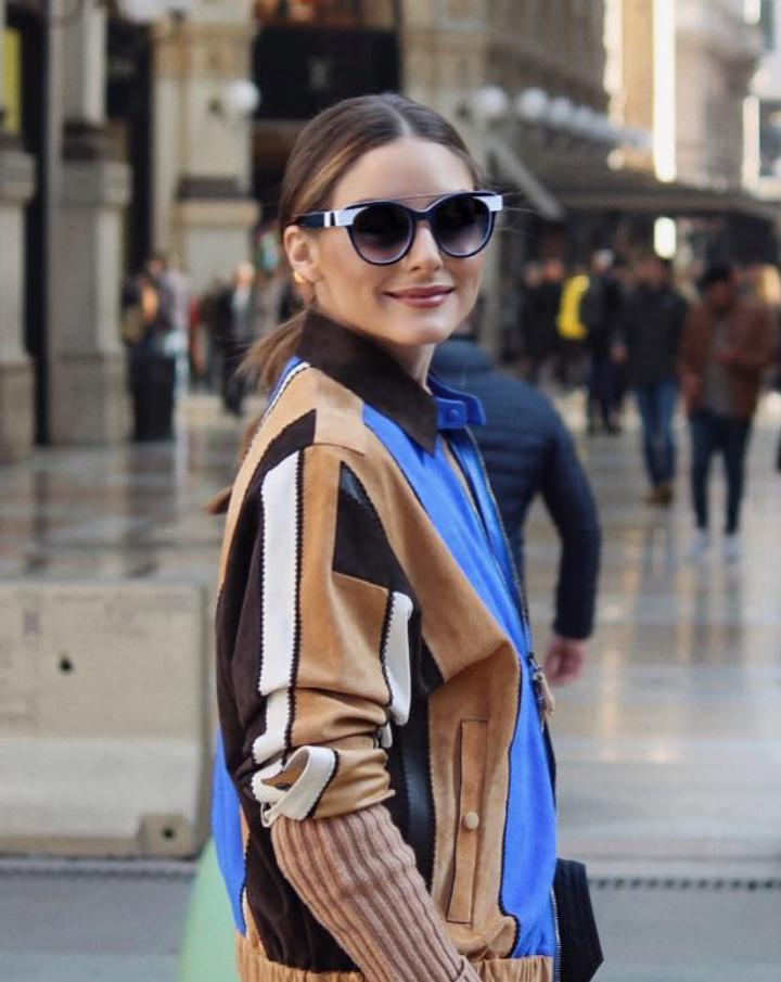 79fa848eee olivia-palermo. Spotted at Milan Fashion Week wearing Mayfair 02