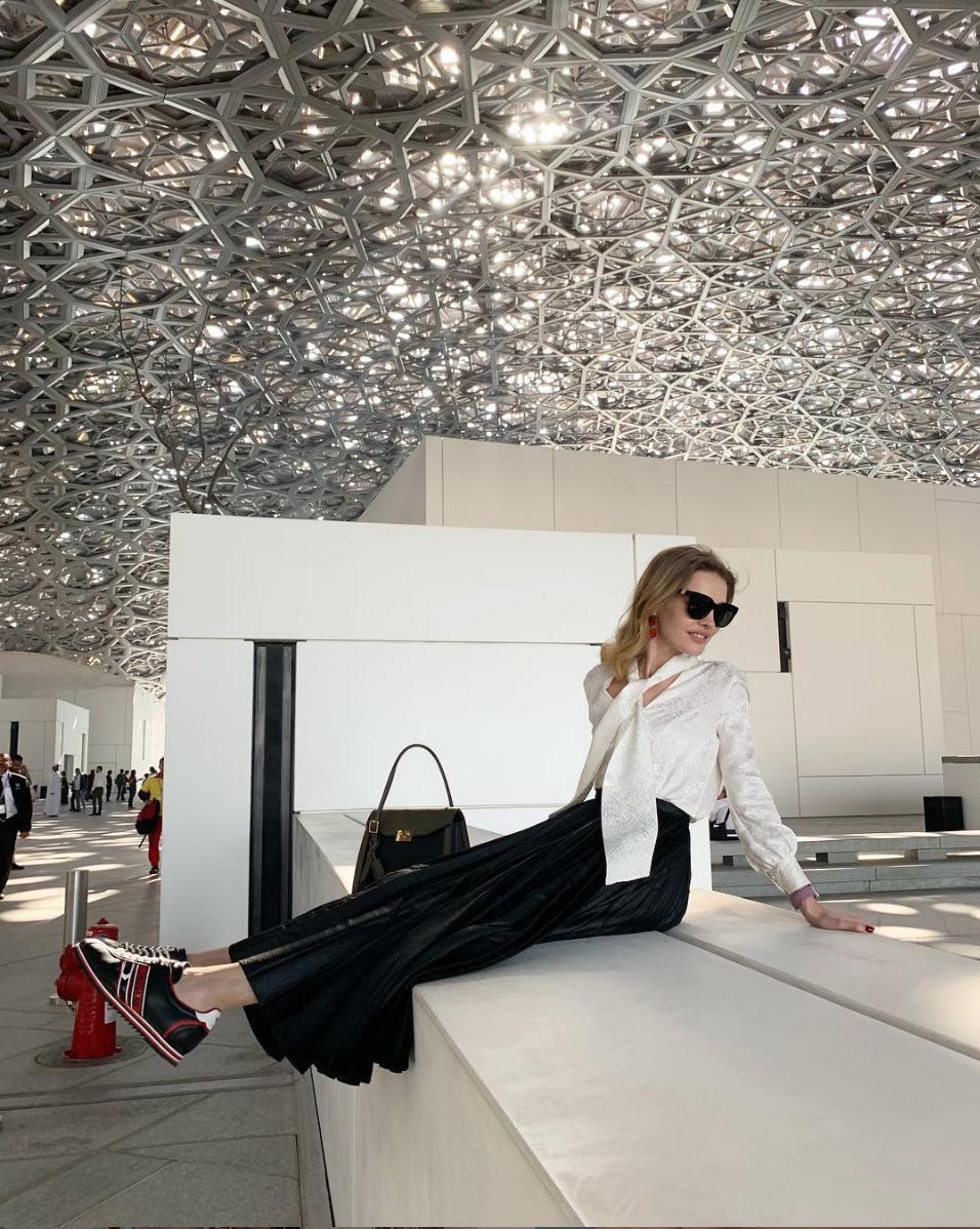 Natalia Vodianova wearing Westward Leaning X Olivia Palermo Moore 04