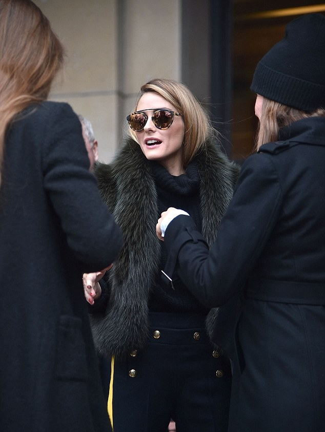 e7acbf0b0e Olivia Palermo Spotted in Westward Leaning Sunglasses