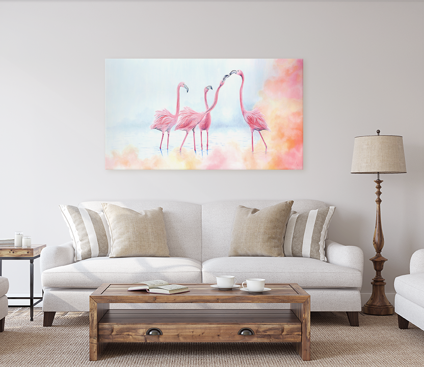 Pink Flamingos Limited Edition Print