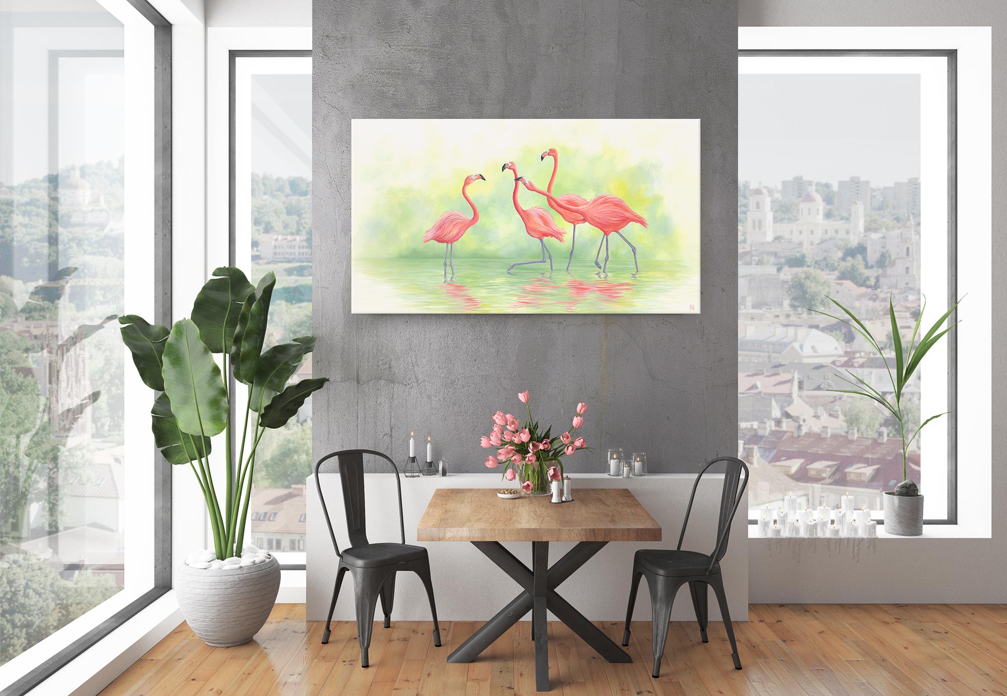 'Pink Flamingos II'