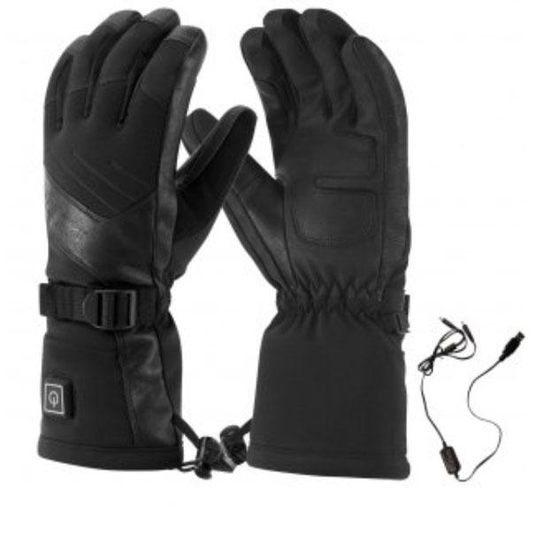 Steiner Heated Ski Gloves for Women at Winternational