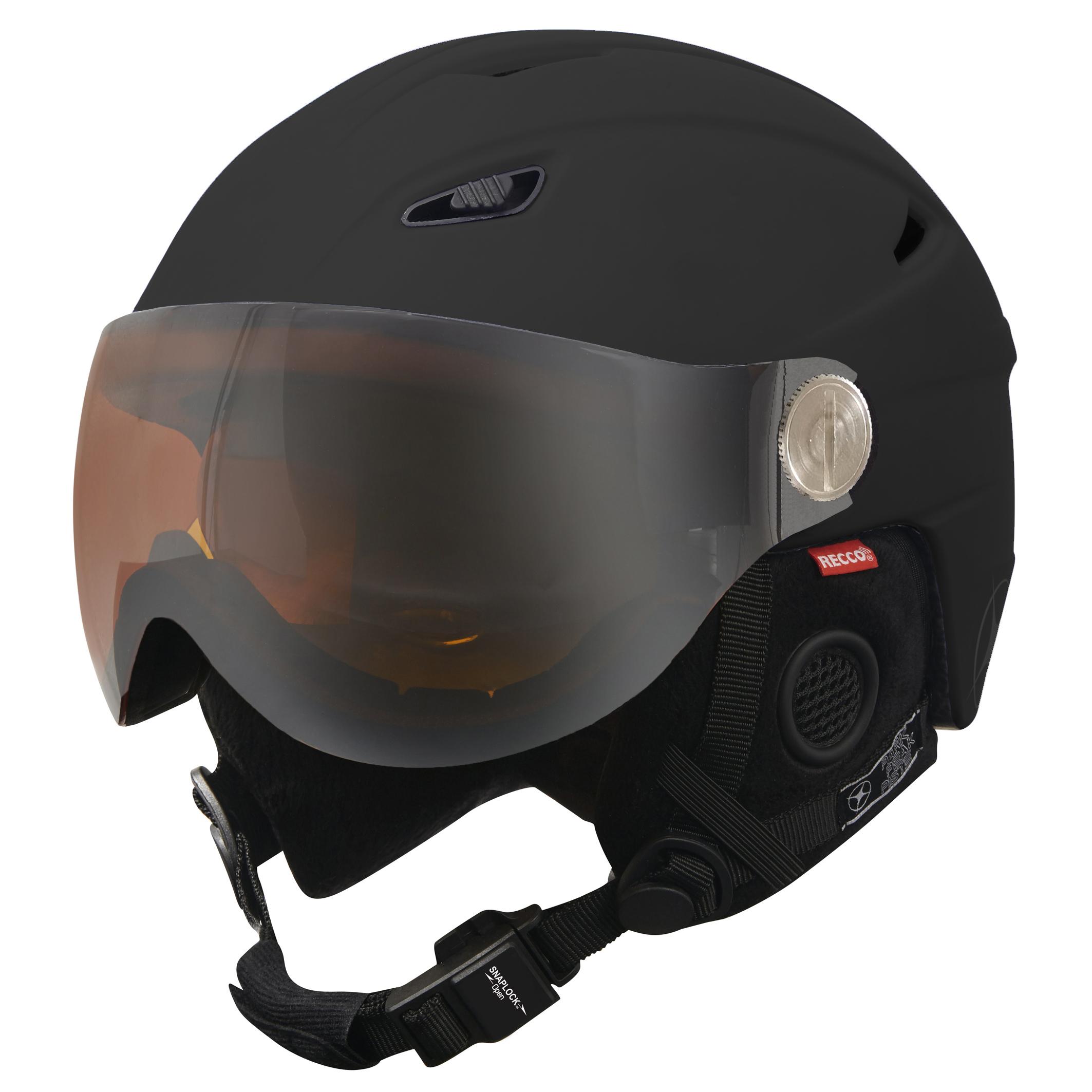 Ladies designer ski helmets