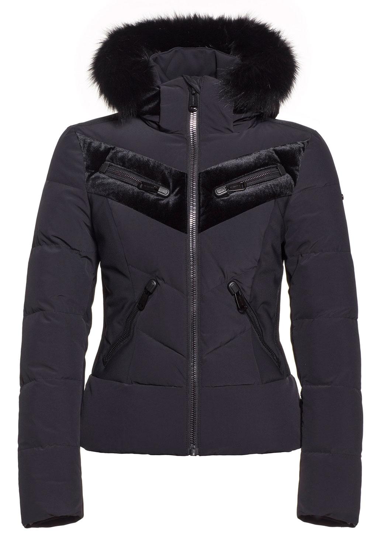 Idunn Black Ski Jacket by Goldbergh at Winternational