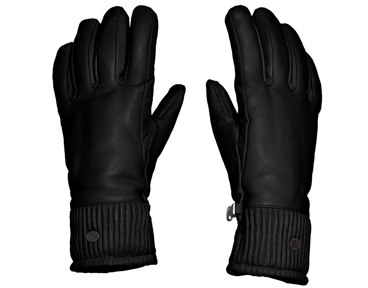 Goldbergh Leather Ski Gloves for women