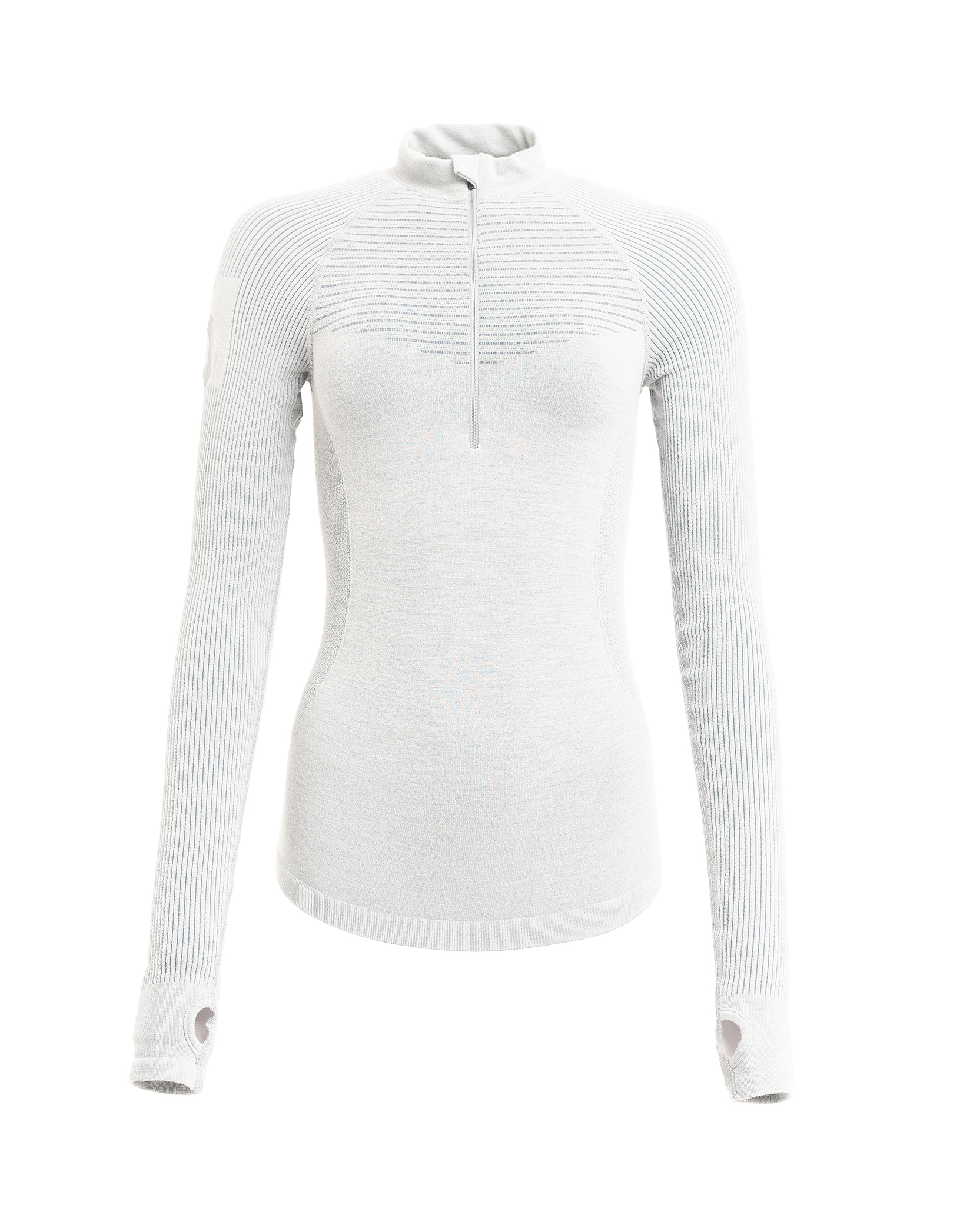 FLOA soft grey ski base layer