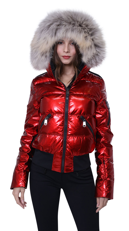 Metallic Luxury Ski wear for Women
