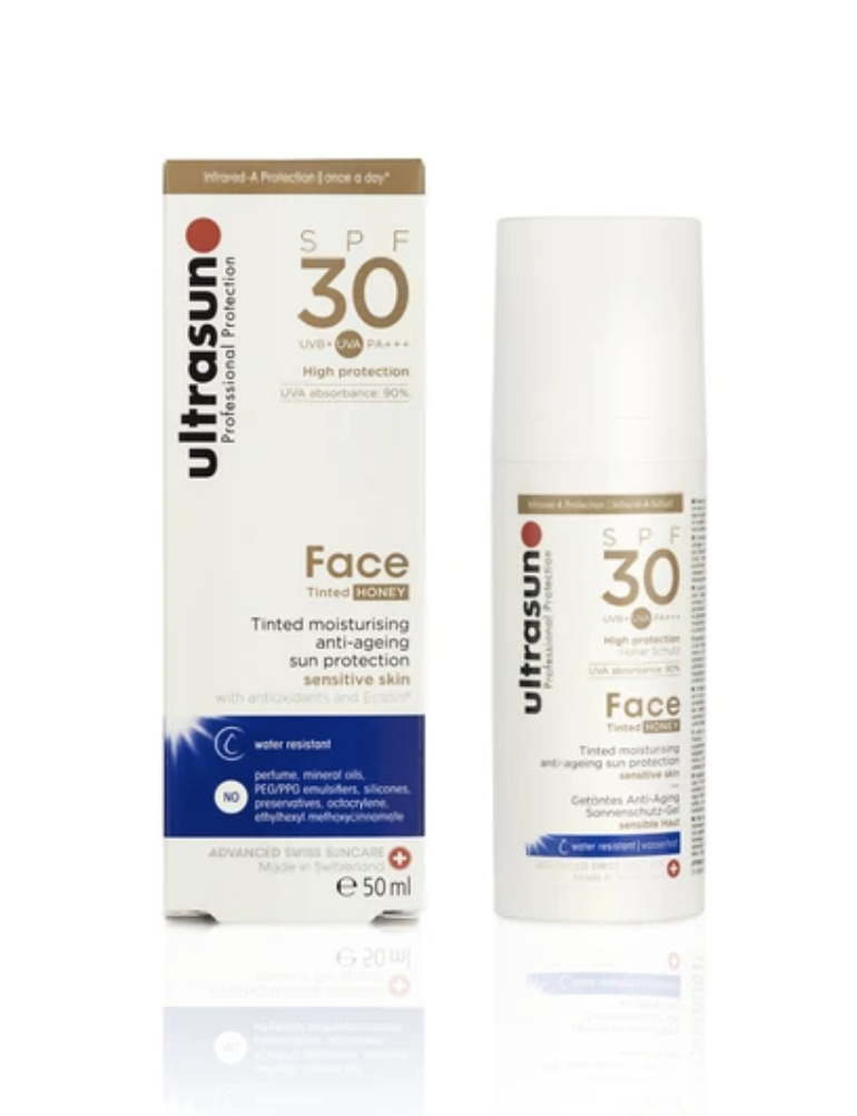 Ultrasun sunscreen with tint