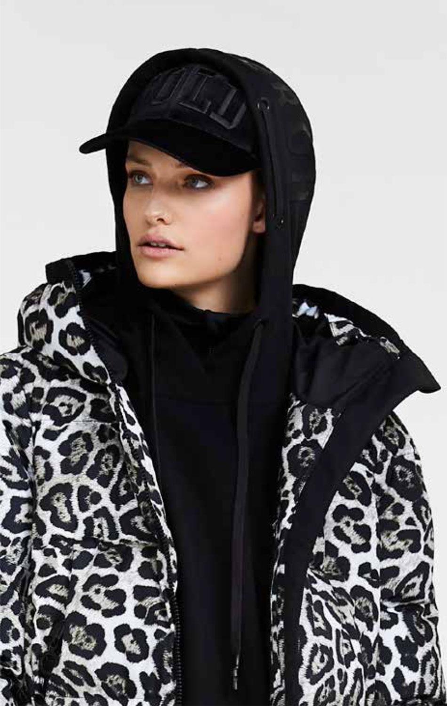Goldbergh's Lua Leopard Print women's designer ski jacket