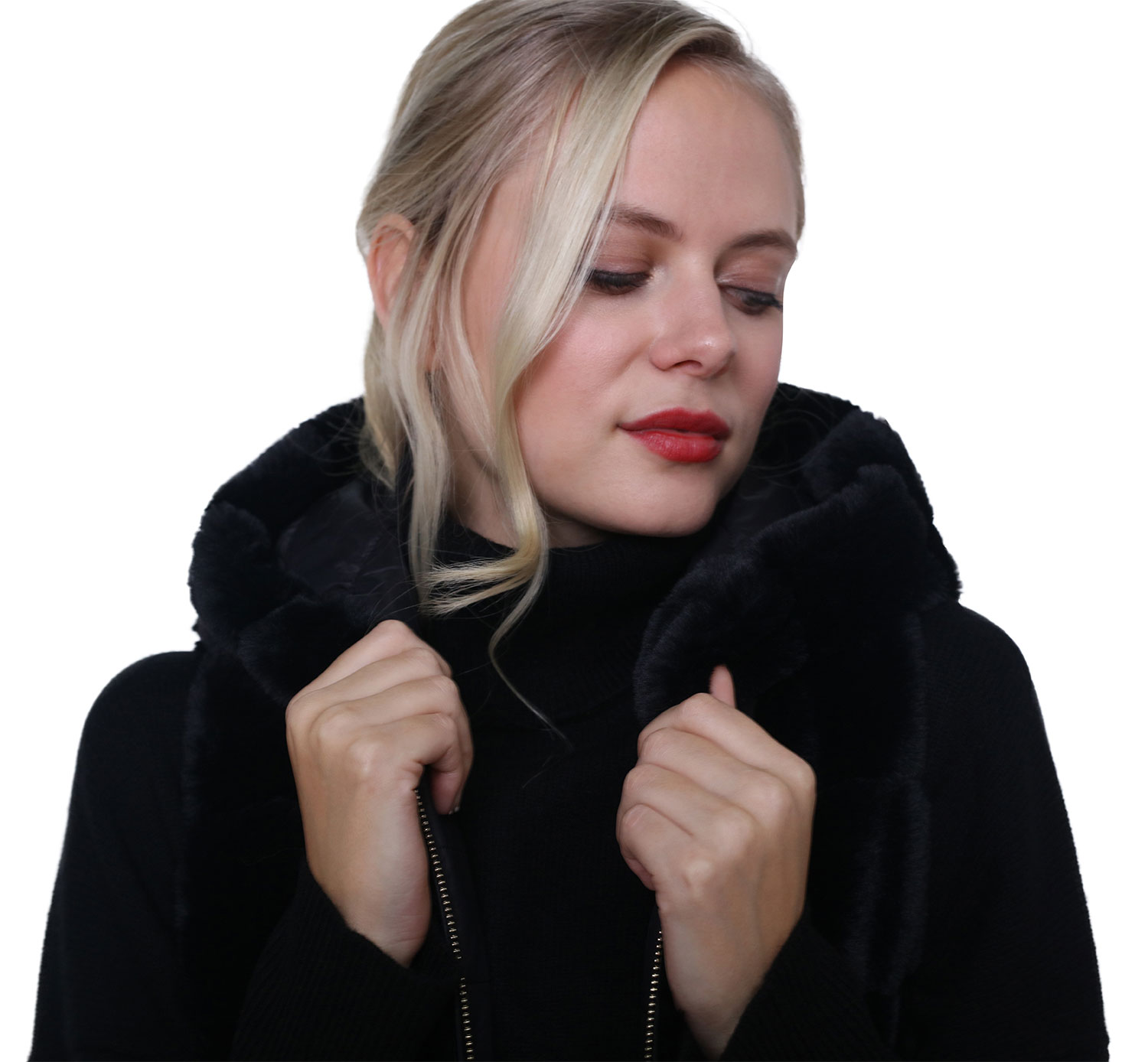 Alana Faux Fur Gilet from High Society