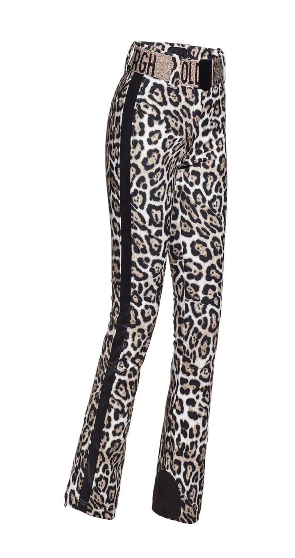 Goldbergh Roar leopard print ski pants