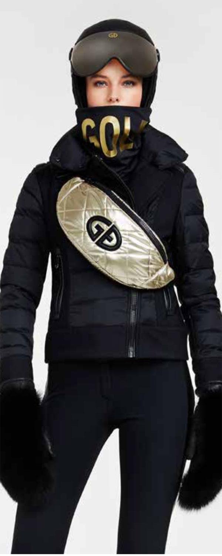 Goldbergh Leather Ski Gloves for women