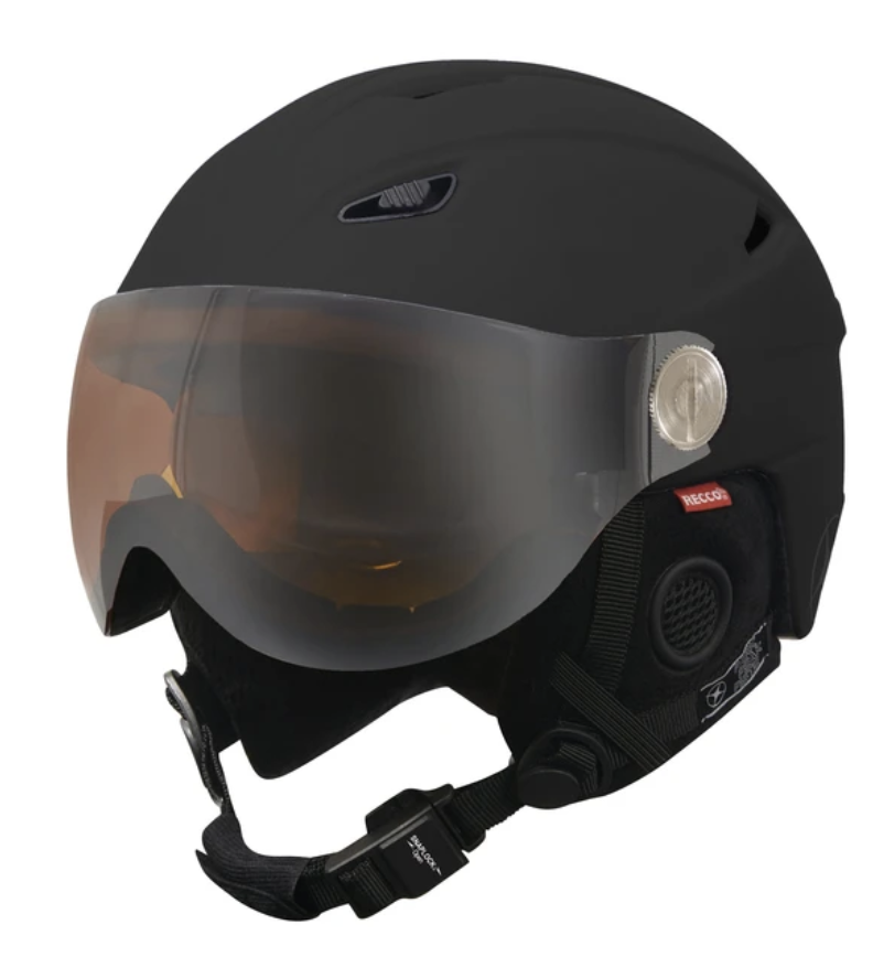 Manbi Ski Helmet with Visor