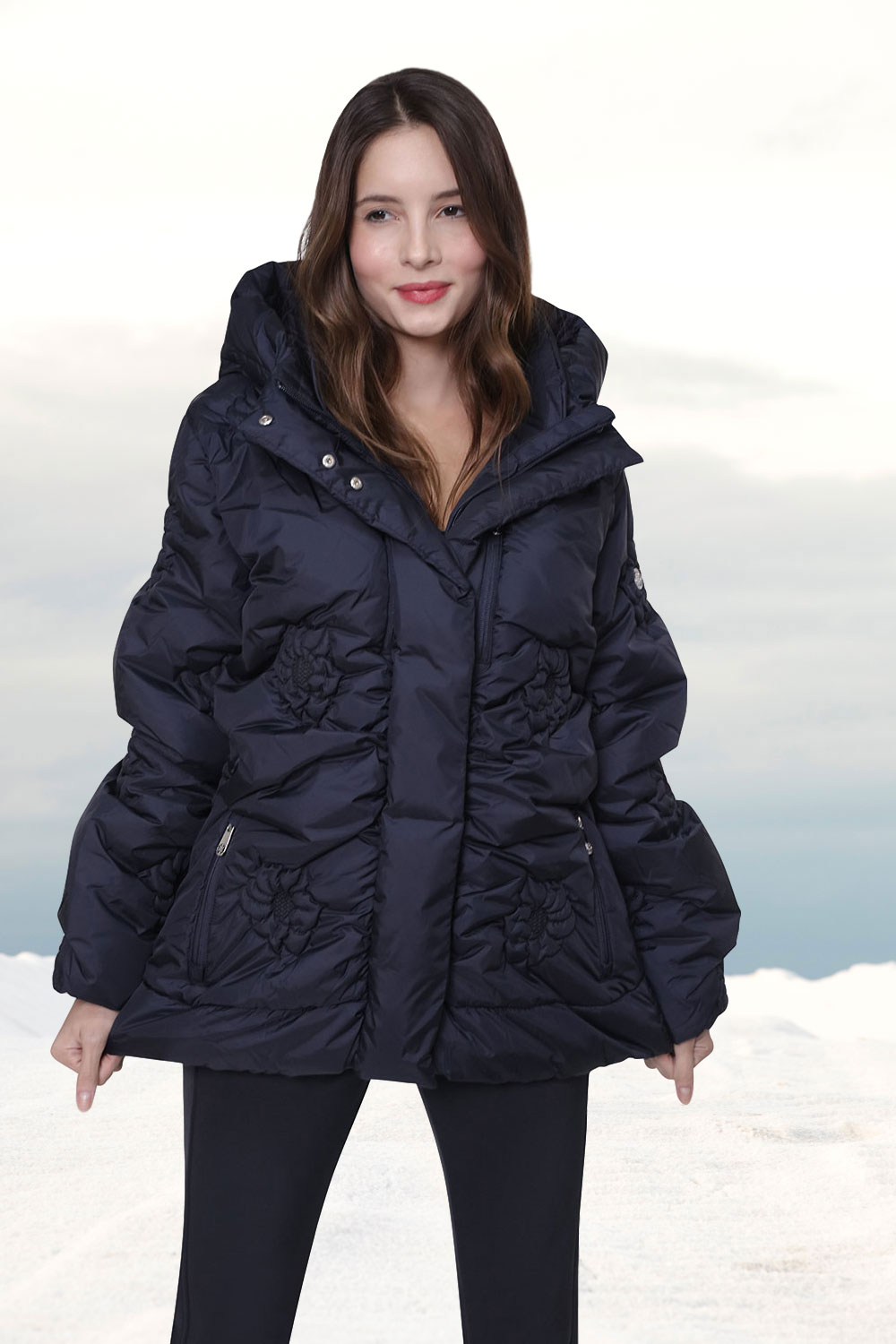 Poivre Blanc Gothic Blue Ski Jacket for Women