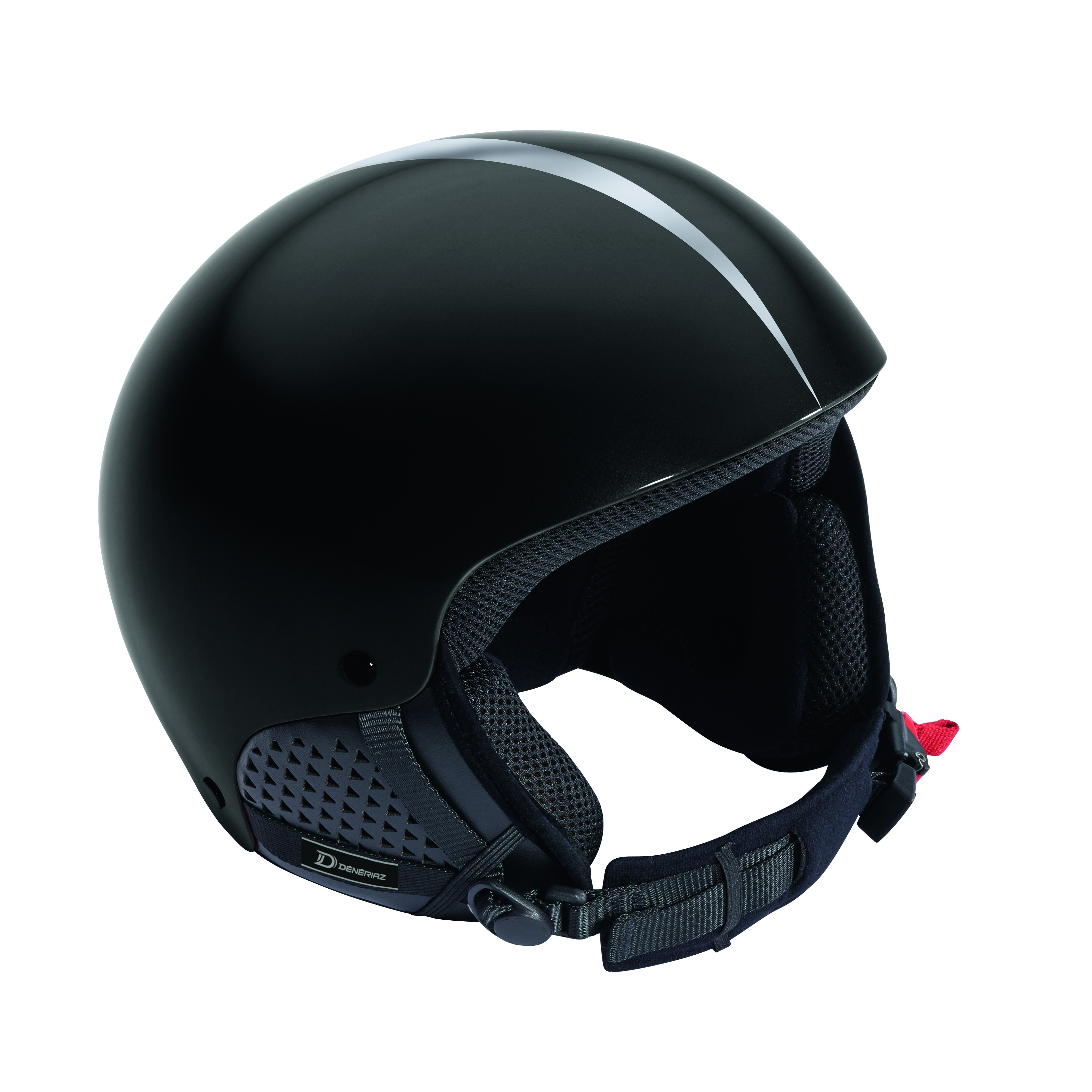 Deneriaz Torino Ski Helmet with Silver Arrow