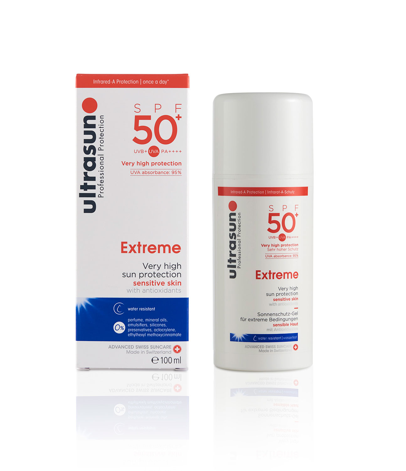 Ultrasun Extreme Protection Sunscreen 50SPF