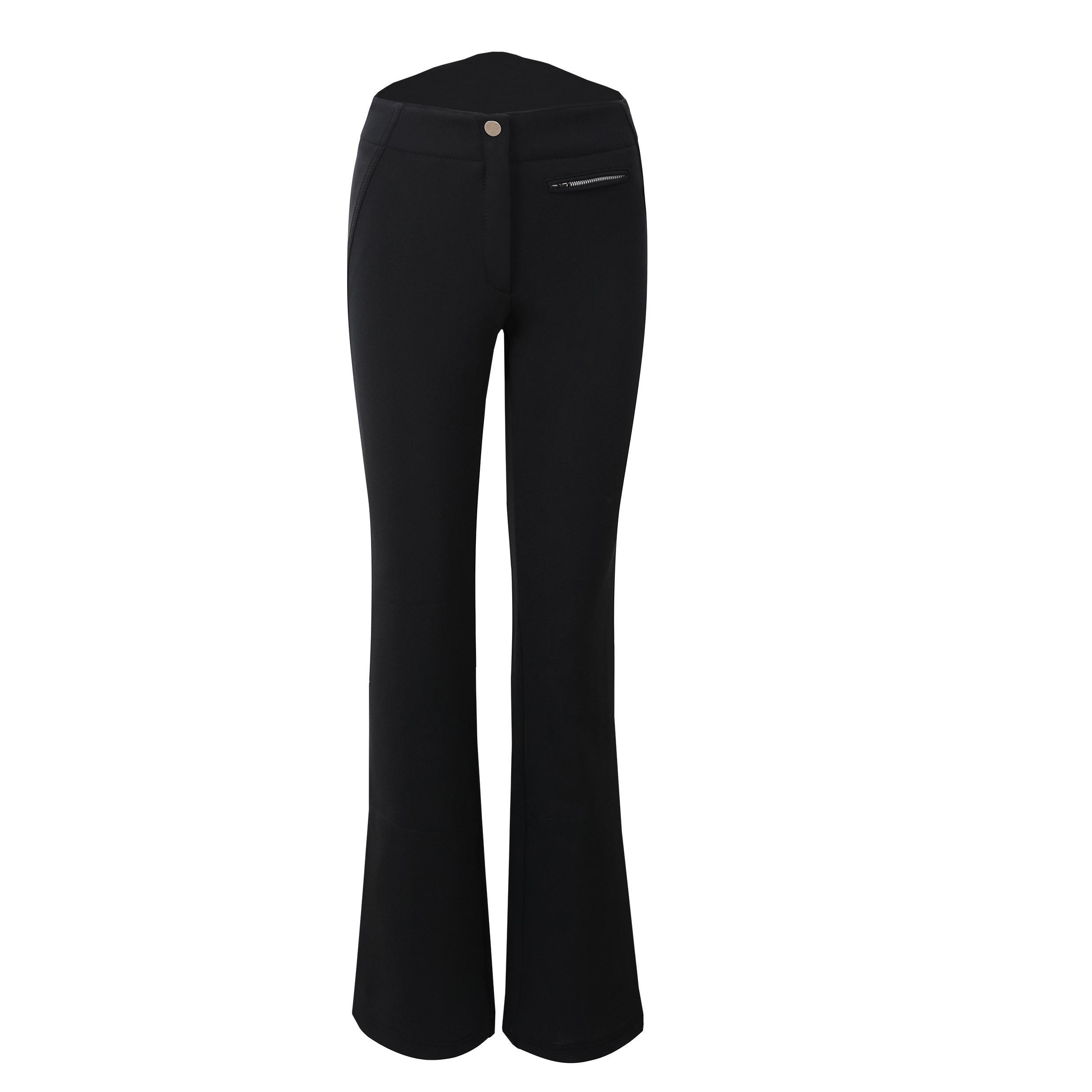 Liz, black ski pants from Kelly by Sissy de Monte Carlo