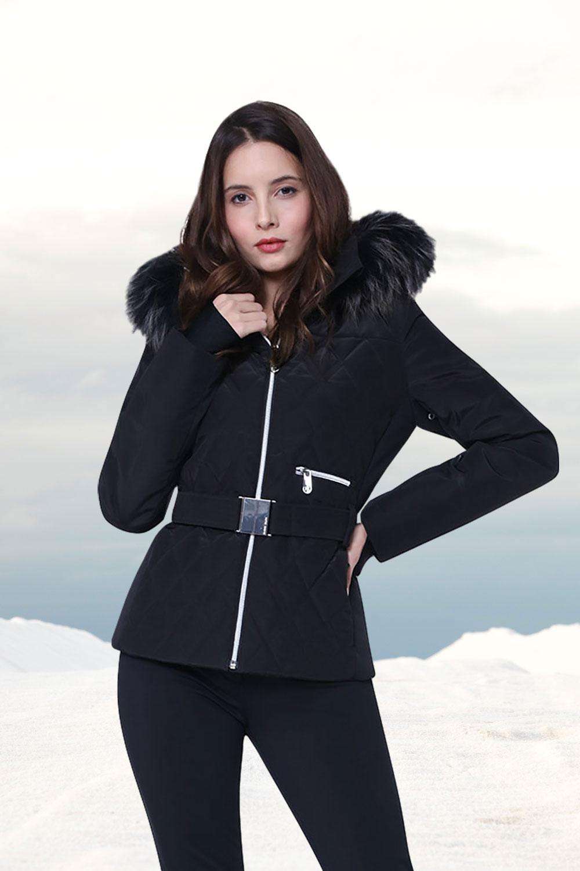 Luxury ski wear for women by Poivre Blanc at Winternational