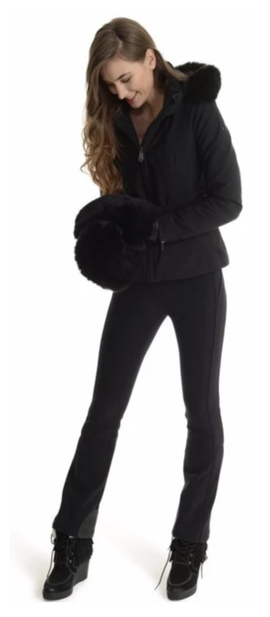 Pippa black stretch ski pant by Goldbergh