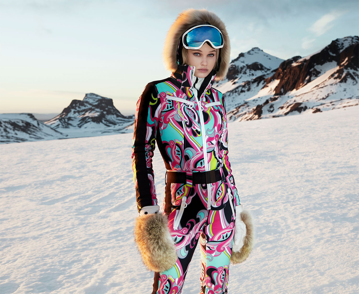 Goldbergh Glam Ski Suit with Hood