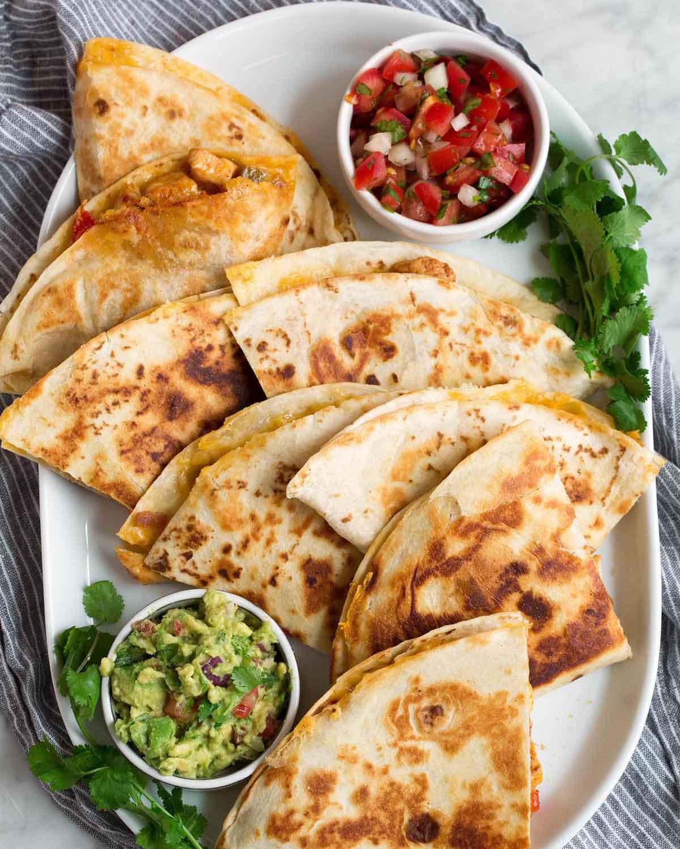 Chicken-Quesadillas