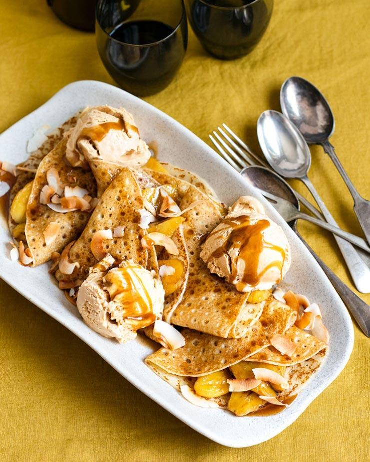 Caramel-Banana-Crepes