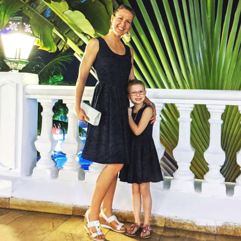 Matching Mommy and Me Vacation Dresses