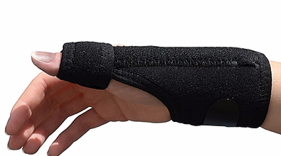 thumb support, thumb brace for thumb pain, de quervains syndrome, tendonitis pain