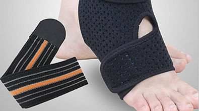 ankle sprain, ankle brace support for sprained ankle, ankle sprain injury
