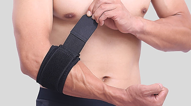 Elbow support for tennis elbow