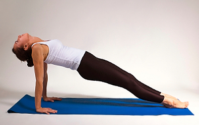 upward plank - Yoga poses for shoulder and neck pain