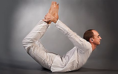 Bow pose - Yoga poses for shoulder and neck pain