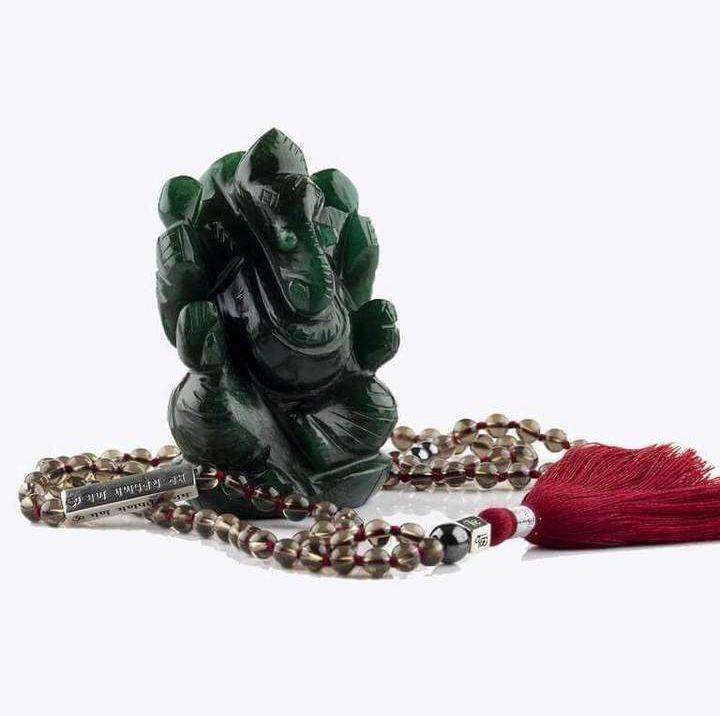 Jade Stone Ganesha