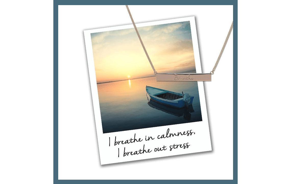 Breathe Bar Necklace