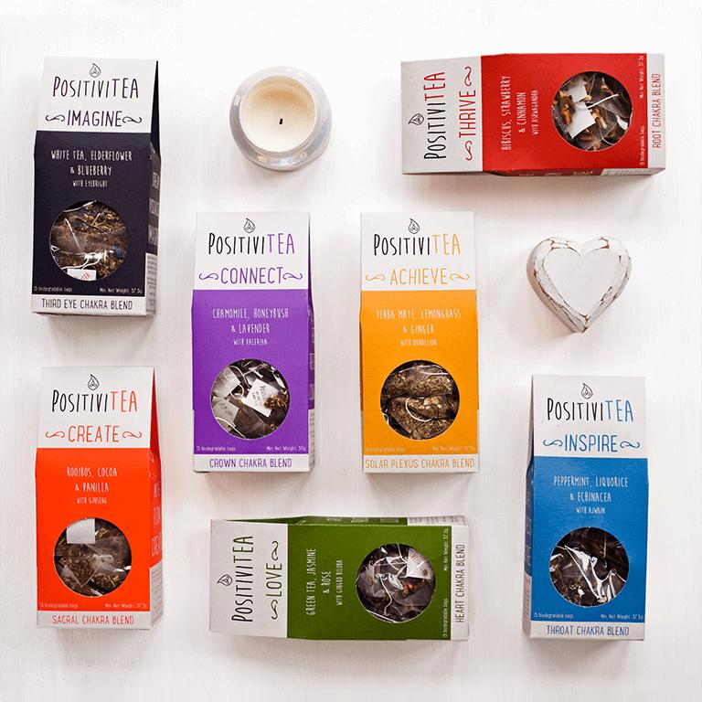 Seven Chakra Herbal Tea Gift Set