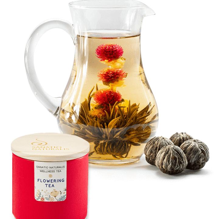 Flowering Tea Caddy