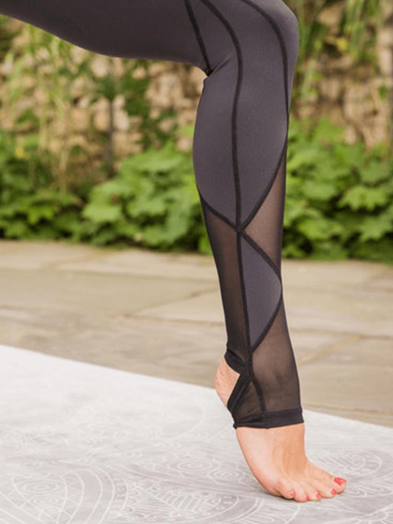 Pointe Mesh Yoga leggings