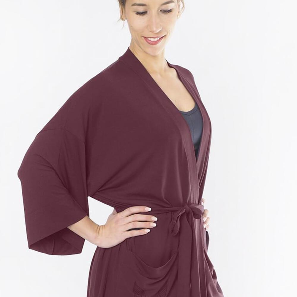 Kamala Kimono - Mystic Red