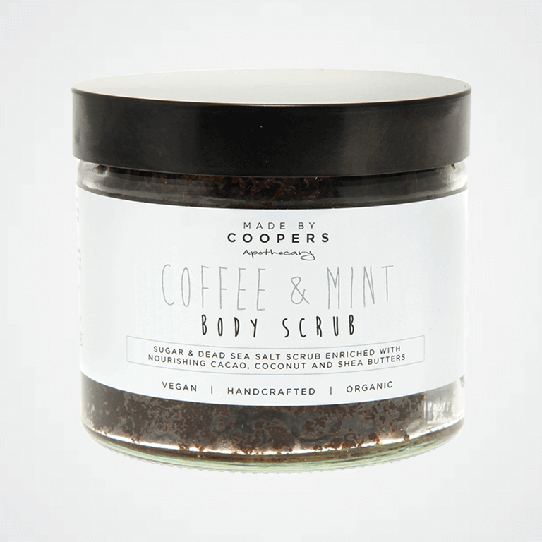 Body Scrub - Coffee & Mint