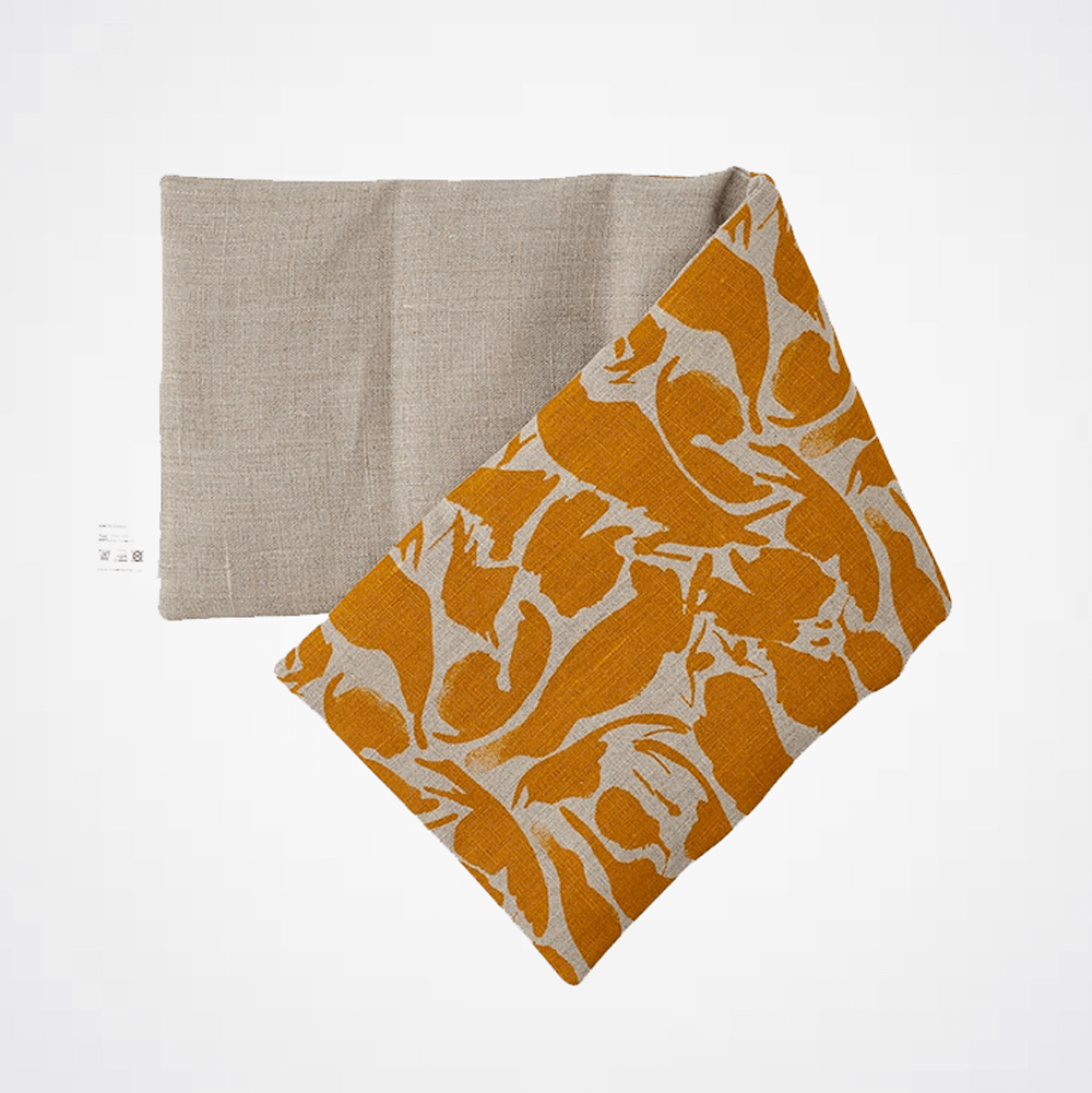 Linen Wheat Bag - Yellow Creatures