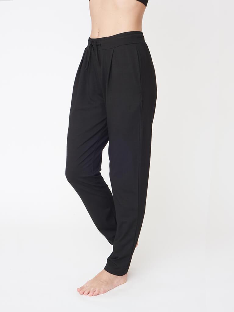 Drawstring Pants - Black