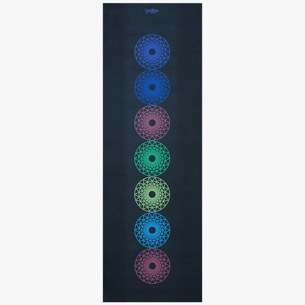 Chakra Yoga Mat - Somewhere Over The Chakras