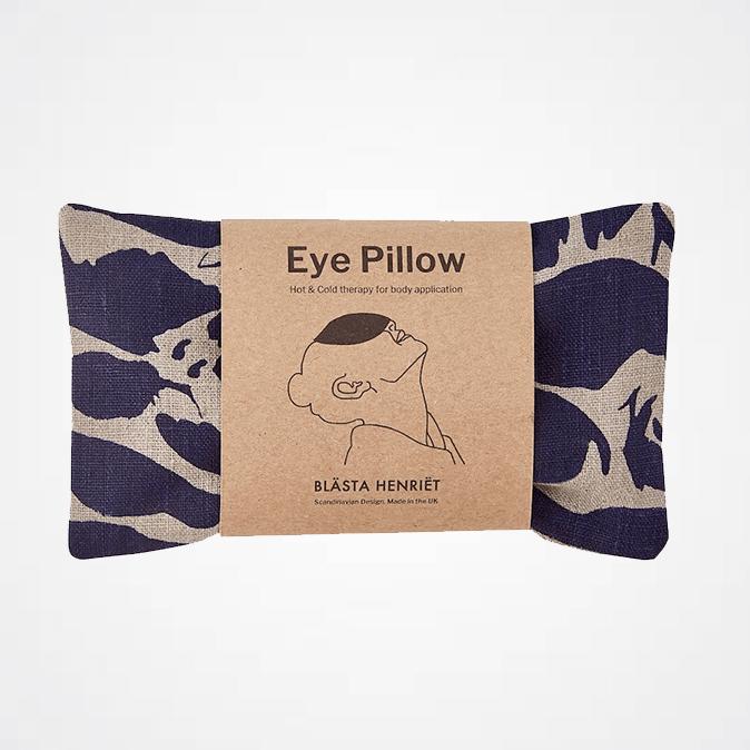 Linen Eye Pillow - Navy Creatures