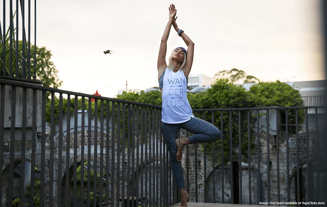 Free Spirit available at yogaclicks