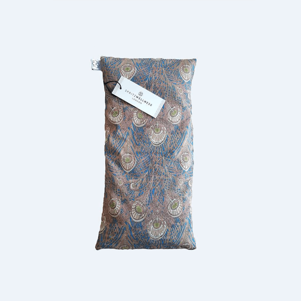 Scented Liberty Print Eye Pillow - Pink Feather