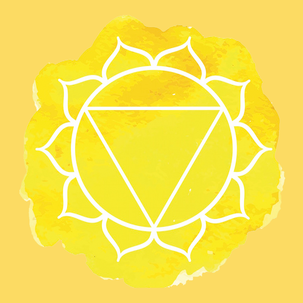 Solar Plexus Chakra (Yellow Chakra) - Ambronite for Strength and Confidence