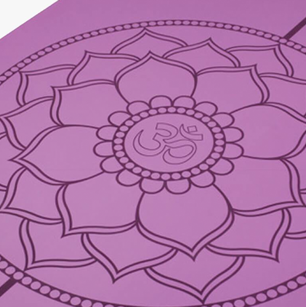 Mandala Yoga Mat - Purple