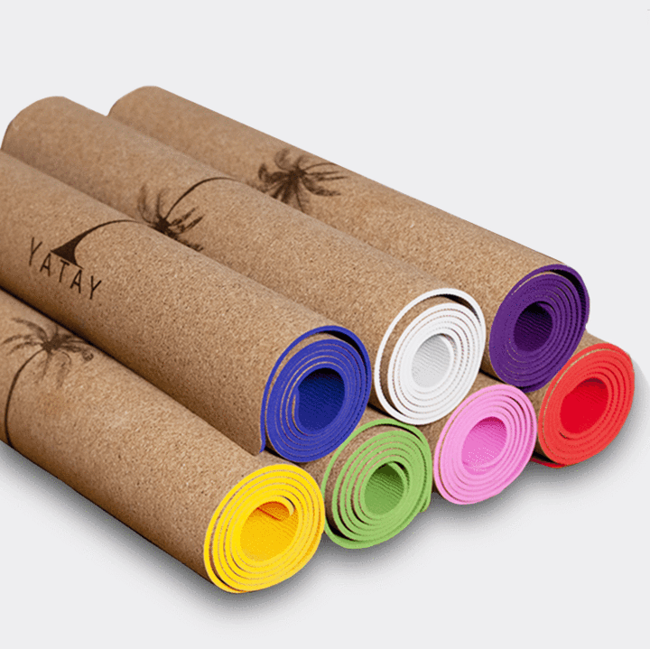 The Classic Yogi - Cork Yoga Mat